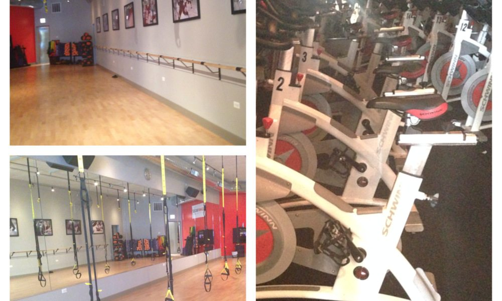 Cycling classes in Chicago asweatlife fabfitchicago fitness studio gym workout