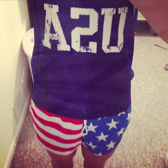 usa outfit world cup workout