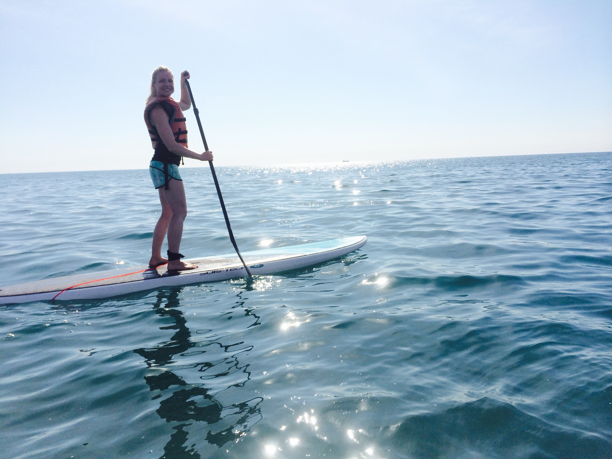 Crosstown Fitness asweatlife fabfitchicago standup paddle board in chicago
