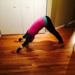 No equipment workout asweatlife fabfitchicago barre downward dog