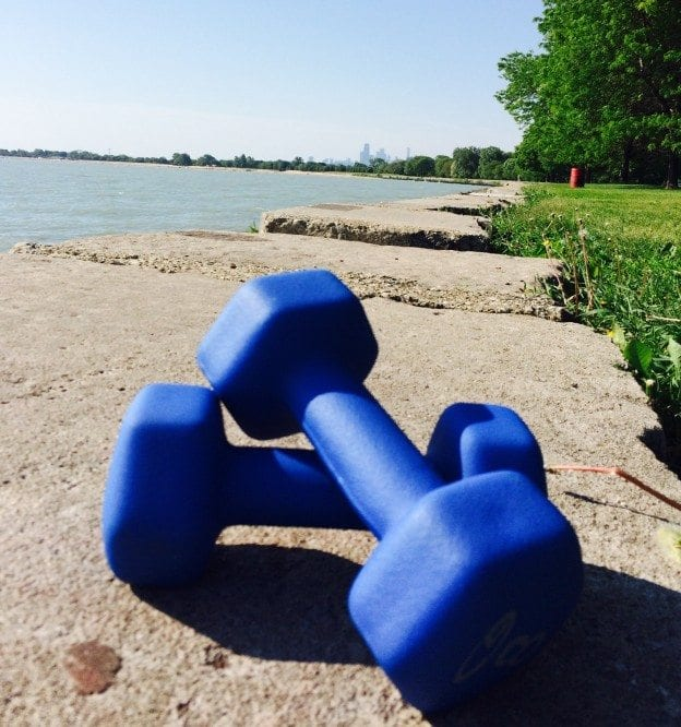 outdoor fitness chicago