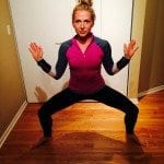 No equipment workout asweatlife fabfitchicago barre pile squat
