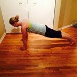 No equipment workout asweatlife fabfitchicago plank
