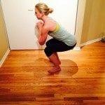 No equipment workout asweatlife fabfitchicago oblique twist squat jump