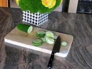 asweatlife recipe fabfitchicago chicago health fitness watermelon cucumber salad
