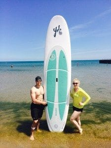 asweatlife standup paddle pilates chicago