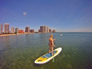 asweatlife standup paddle pilates chicago paddling