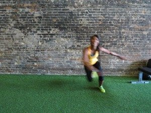 asweatlife fabfitchicago crosstownfitness workout at home no equipment workout side speed skater