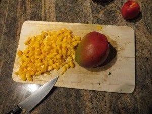 asweatlife fabfitchicago Meal prep shrimp recipe mango salsa