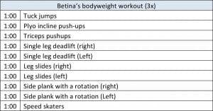 asweatlife fabfitchicago workout at home ctf betina gozo