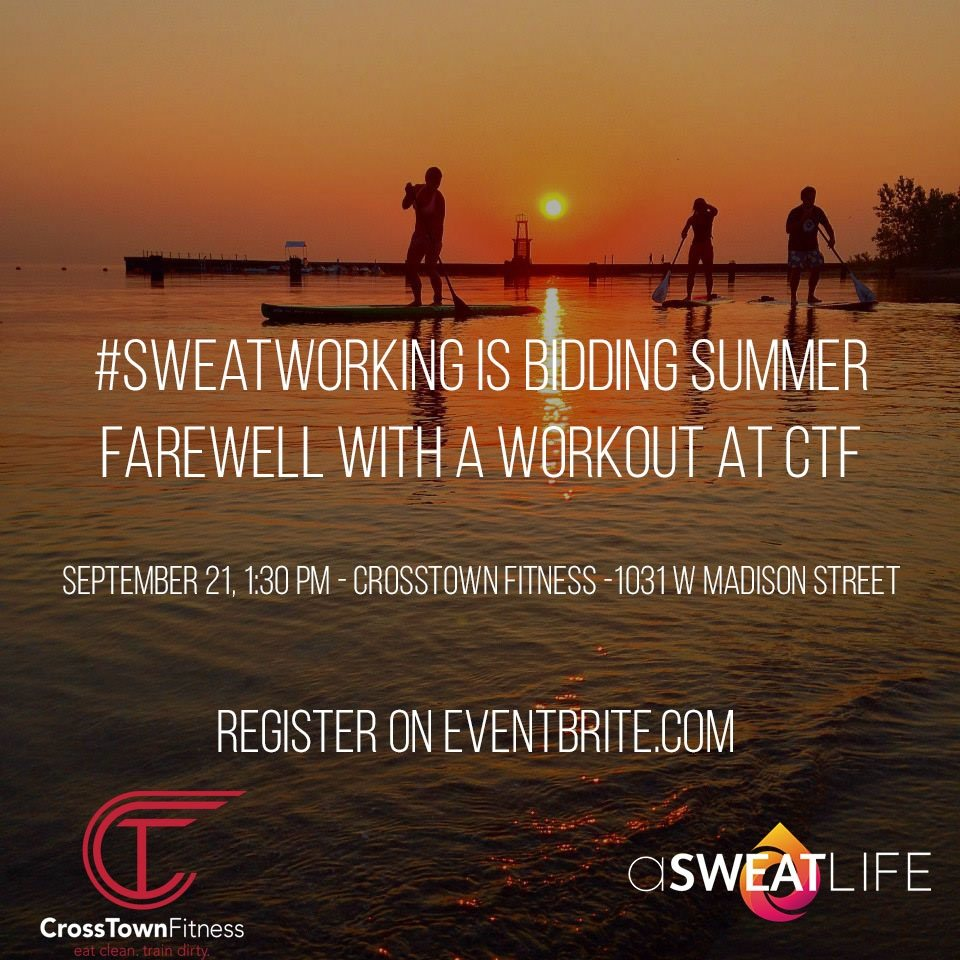 asweatlife sweatworking crosstown