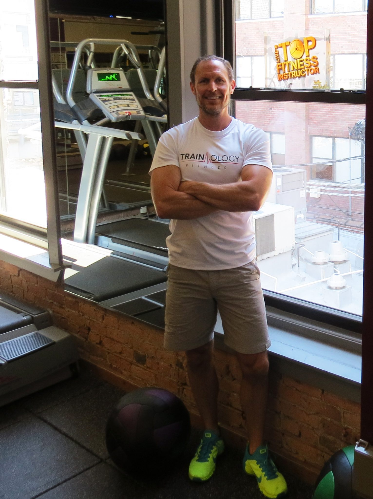 asweatlife fabfitchicago Workout at Home with Michael Wollpert of TRAINology glideology