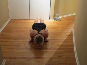 asweatlife fabfitchicago no equipment workout workout at home bodyweight workout triceps pushup