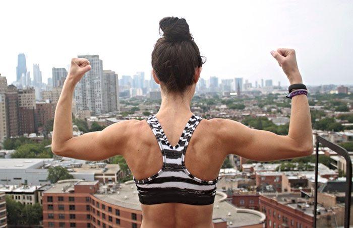 asweatlife chicago trainer Gina caifano