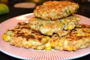 Asweatlife patty's patties, veggie burgers, corn patties