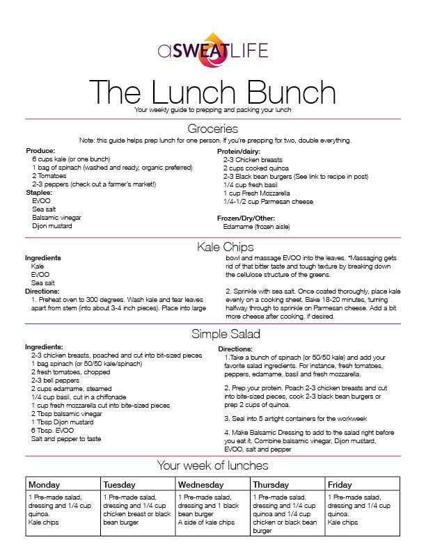 Lunch bunch kale chip recipe lunch recipes