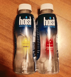 Hoist isotonic water for runners