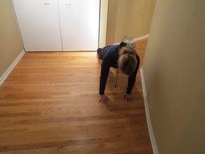 asweatlife bridal workout plank walk
