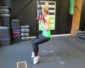 asweatlife how to do TRX pull-ups