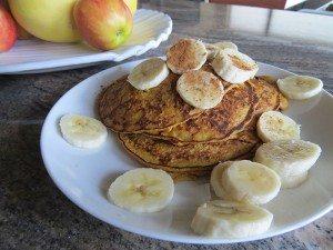 asweatlife pancake recipe pumpkin pancake recipe