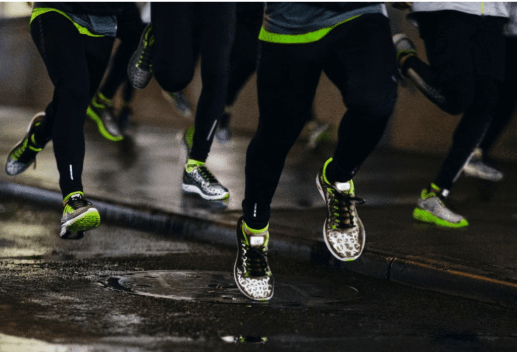 Nike flash shoes Chiberia Challenge with A Sweat Life