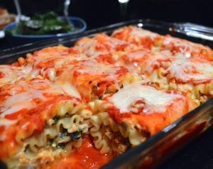 asweatlife lasagna roll up recipe Pumpkin and Kale Lasagna Roll Up Recipe