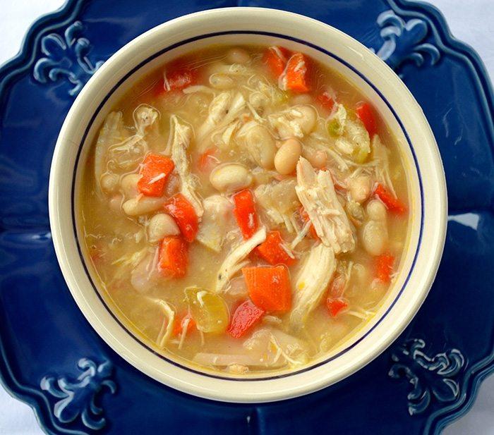 asweatlife_Slow Cooker White Bean Chicken Chili asweatlife_Slow Cooker White Bean Chicken Chili recipe