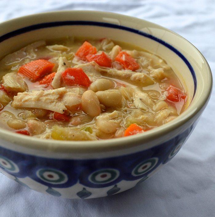 asweatlife_Slow Cooker White Bean Chicken Chili recipe