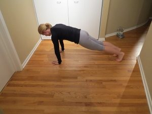 asweatlife plank to pike workout at home