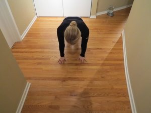 asweatlife tricep pushup workout at home