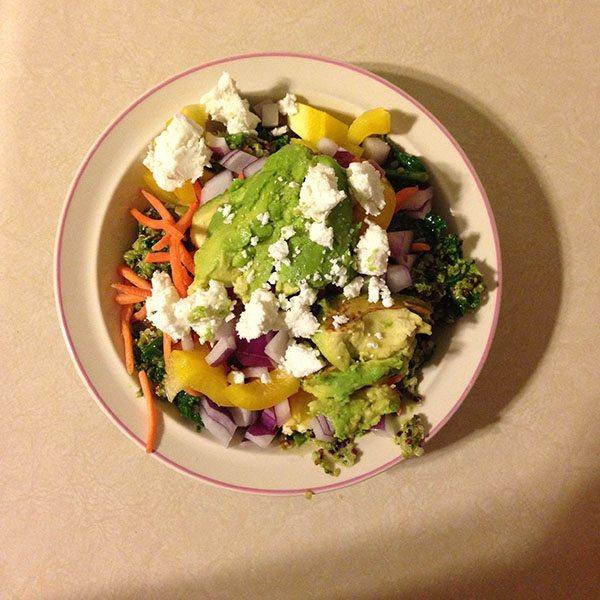 asweatlife_Healthy Eats- Tropical Quinoa and Kale Salad_1