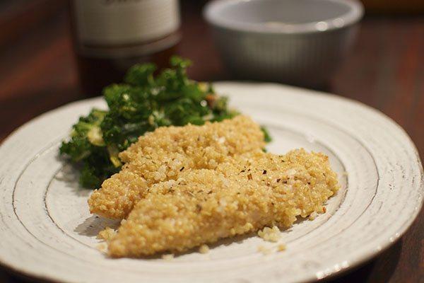 asweatlife_The Lunch Bunch: Quinoa Chicken Tender Recipe_1