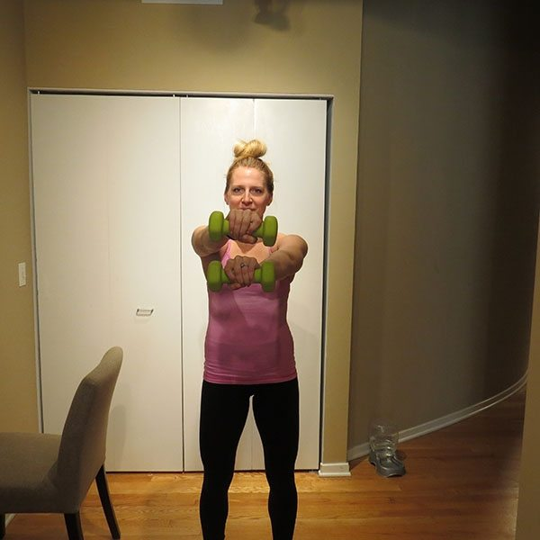 asweatlife_An At-Home Barre Workout_criss cross arms_3
