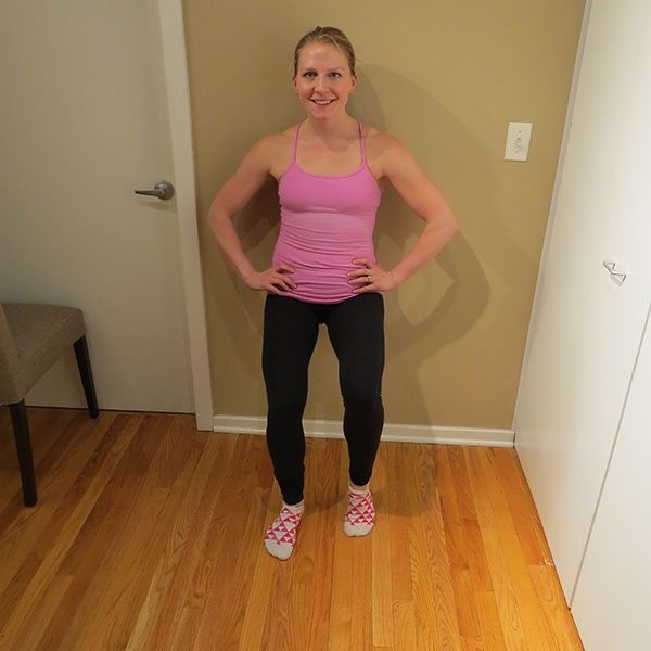 asweatlife_An At-Home Barre Workout_wall sit_3
