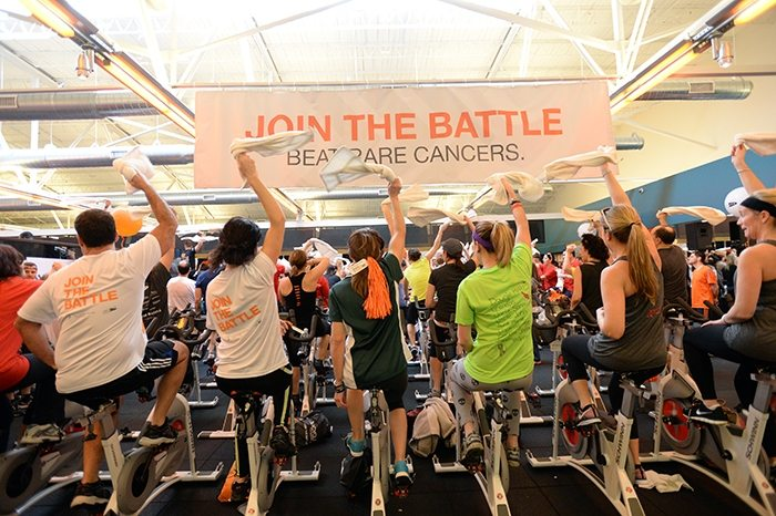 asweatlife_Taking it to the Bike for Cycle For Survival February 21
