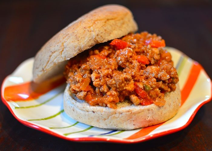 asweatlife_lunch bunch_Healthy Sloppy Joe Recipe