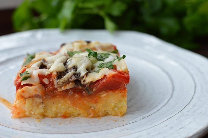 asweatlife_lunch bunch_Veggie Polenta Lasagna recipe