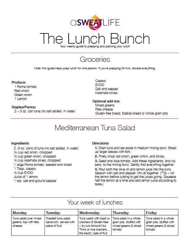 Lunch Bunch_The Lunch Bunch Mediterranean Tuna Salad Recipe_15 04 22