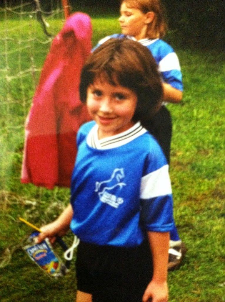 Rachel soccer