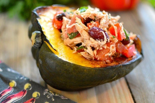 asweatlife_Mexican Stuffed Acorn Squash_featured