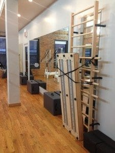 Amplified Pilates private class side