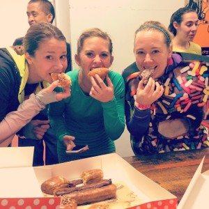 Donut Dash organizers