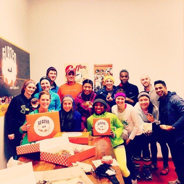 Donut Dash participants