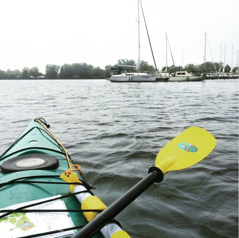 Kayaking in Toronto