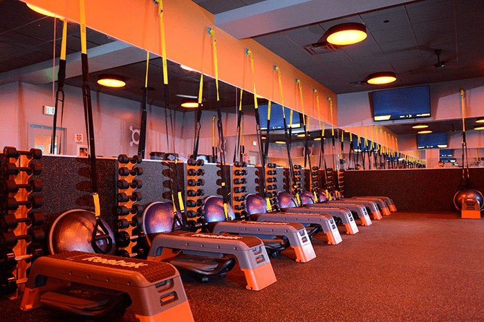 Orangetheory fitness challenges chicago to find the orange for Office design theory
