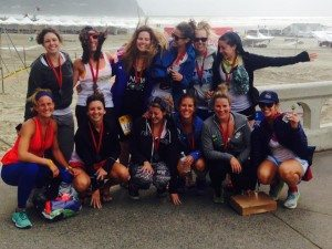 Hood to Coast finish line 2015