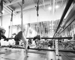 Sweatworking at AIR Aerial Fitness