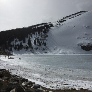 St. Mary's Glacier hike