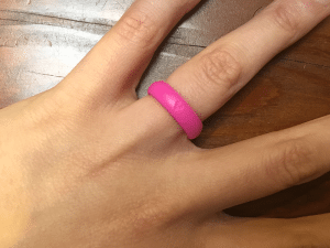 wedding ring for the gym