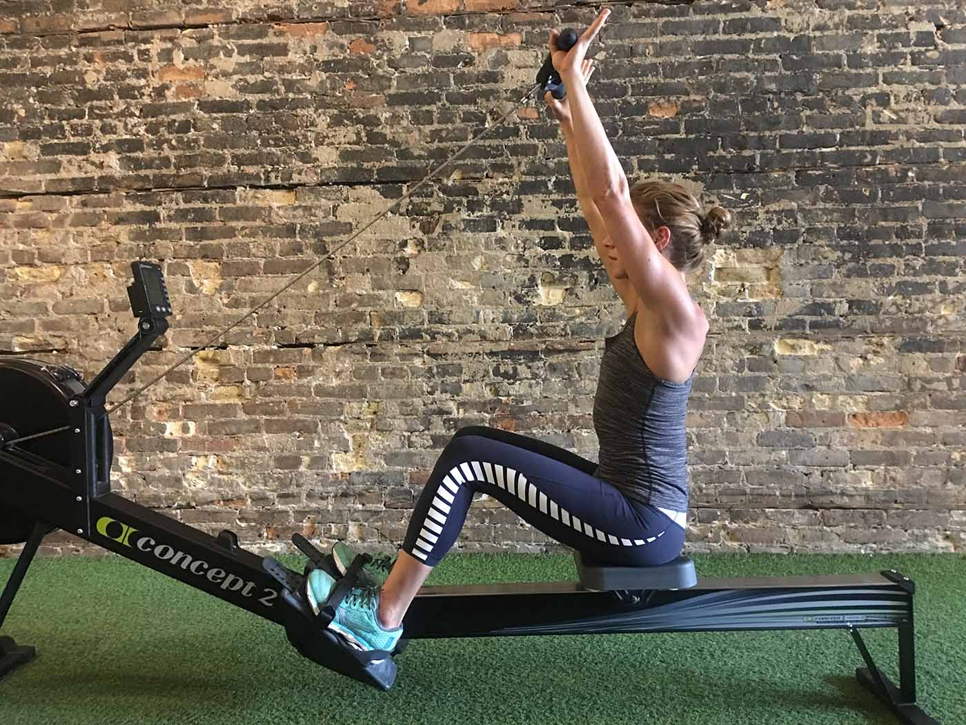 asweatlife_Rower exercises_lat raise 1